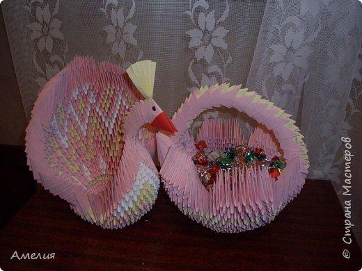Оригами модульное: птицы фото 3