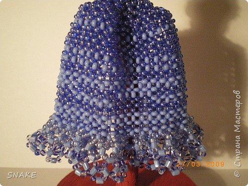 Бисероплетение: Миниатюрное платье фото 3