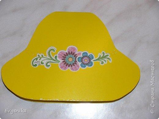открытка-шляпка фото 1