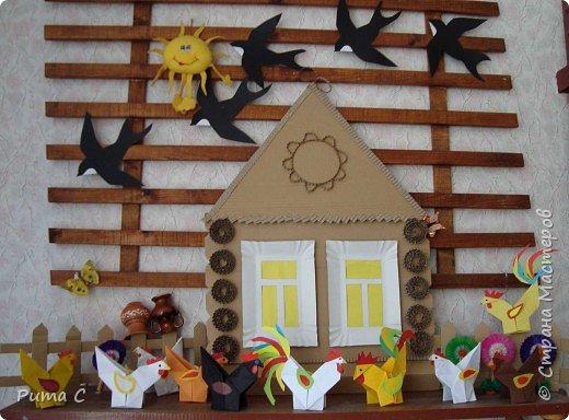 Оригами: Птичий двор