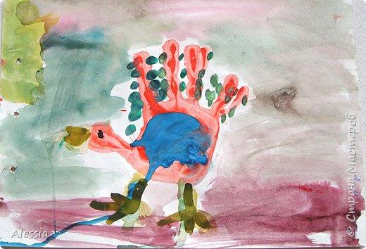 Эта странная птица... петух