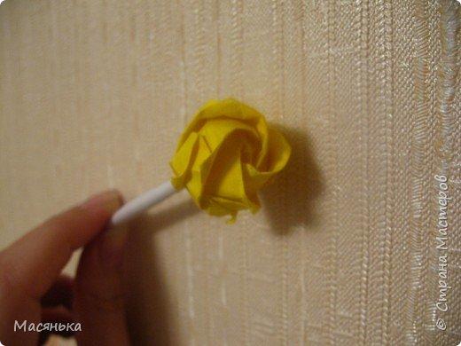 Оригами: Роза