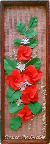 Оригами модульное: Розы от Элины