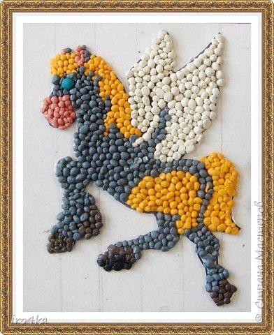 Пластилиновая лошадка