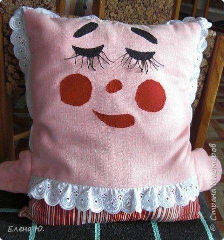 Игрушка мягкая: подушка