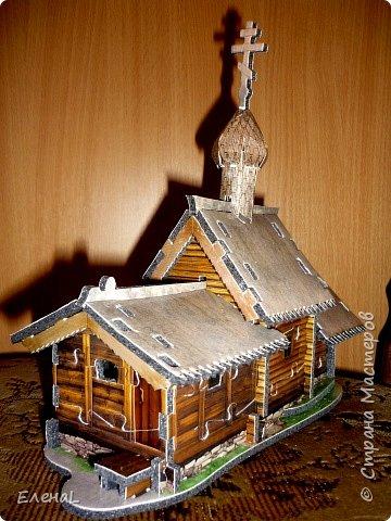 Конструктор: Церковь Воскрешения Лазаря (о.Кижи)