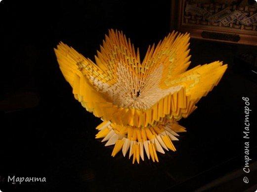 Оригами модульное: ваза для конфет