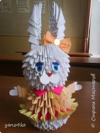 Оригами модульное: Зайки - подружайки фото 1