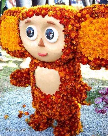 Герб города. Это День города Запорожья. Такие выставки цветов  проходят каждый год. При копировании статьи, целиком или частично, пожалуйста, указывайте активную ссылку на источник! http://stranamasterov.ru/user/9321 http://stranamasterov.ru/node/23202 фото 13