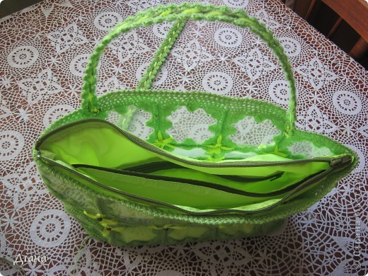 Первый раз в жизни изготовила сумочку - это будет очередной подарок, который я надеюсь понравится. фото 10
