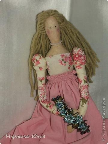 Очень понравилась эта кукла. Но очень много интересных деталей я нашла в интернете уже после того, как закончила работу над моей первой героиней. фото 2