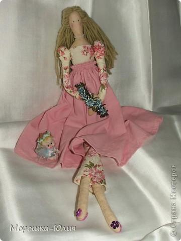 Очень понравилась эта кукла. Но очень много интересных деталей я нашла в интернете уже после того, как закончила работу над моей первой героиней. фото 1