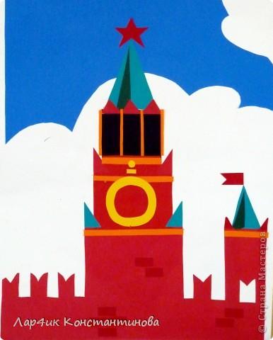 Рисунки красной площади