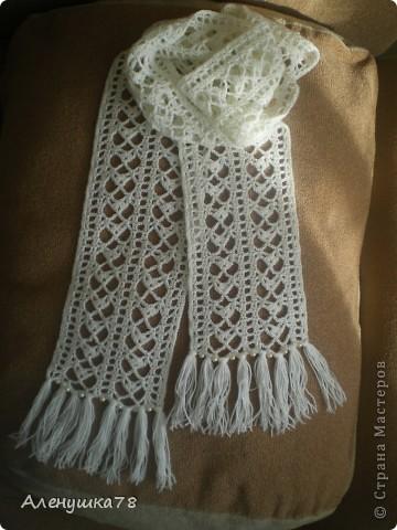 Шапки, шарфы, снуды Вязание спицами, крючком, уроки вязания 69