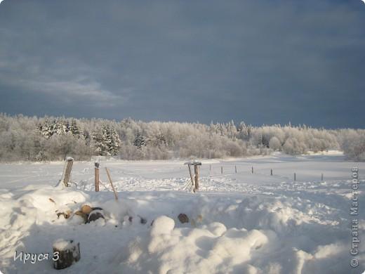 Зимние пейзажи  фото 12