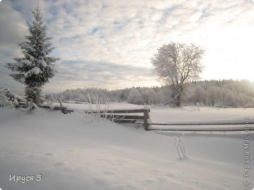 Зимние пейзажи  фото 16