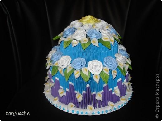 модульное Праздничный торт