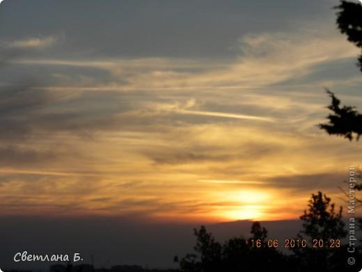 Жаркие дни- красивейшие закаты фото 16