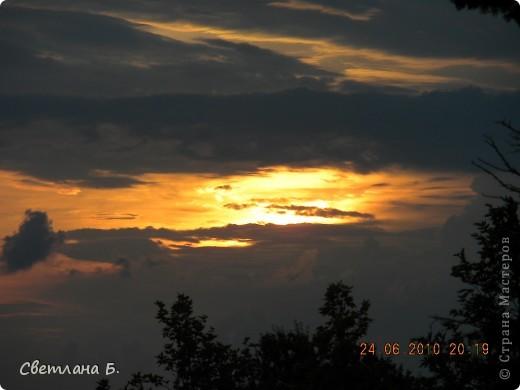 Жаркие дни- красивейшие закаты фото 10