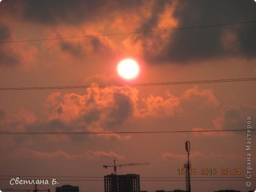 Жаркие дни- красивейшие закаты фото 9