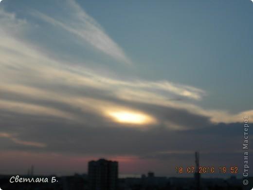 Жаркие дни- красивейшие закаты фото 7
