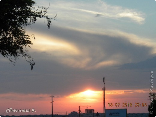Жаркие дни- красивейшие закаты фото 6