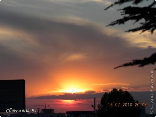Жаркие дни- красивейшие закаты фото 2