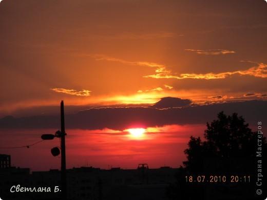 Жаркие дни- красивейшие закаты фото 3