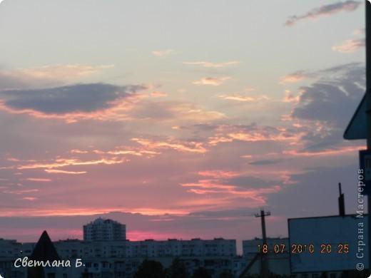 Жаркие дни- красивейшие закаты фото 4