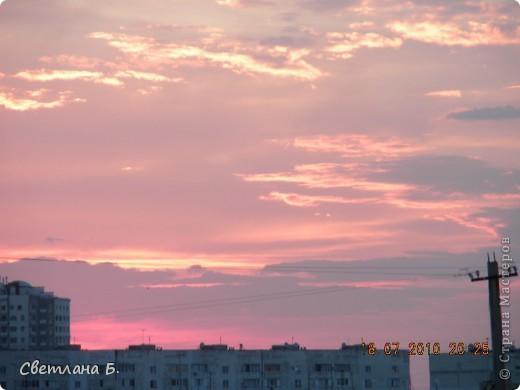 Жаркие дни- красивейшие закаты фото 5