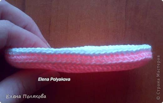 Гардероб Вязание крючком Пинетки-сандалики Описание вязания Пряжа фото 4