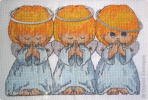 Вышивка крестом Почти