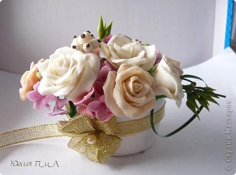 Мастер-класс День рождения Лепка Розовые «секреты» и не только холодный фарфор МК Фарфор холодный фото 7