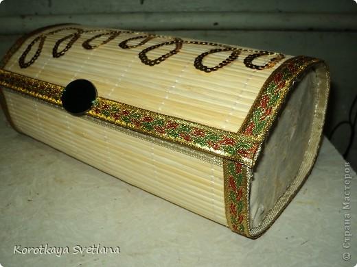 Мастер-класс Мастер-класс по изготовлению шкатулки из бамбуковой салфетки Салфетки Тесьма шнур Ткань фото 14