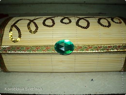 Мастер-класс Мастер-класс по изготовлению шкатулки из бамбуковой салфетки Салфетки Тесьма шнур Ткань фото 1