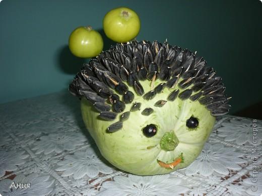 Какую поделку можно из овощей в детский сад