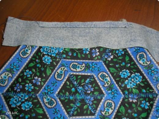 """Показываю для вас милые дамы м.к. как сшить разные прихватки из одной и той же ткани ткани методом лоскутного шитья """"калейдоскоп""""(прихватки получаются с разным орнаментом, но в одной цветовой гамме). фото 14"""