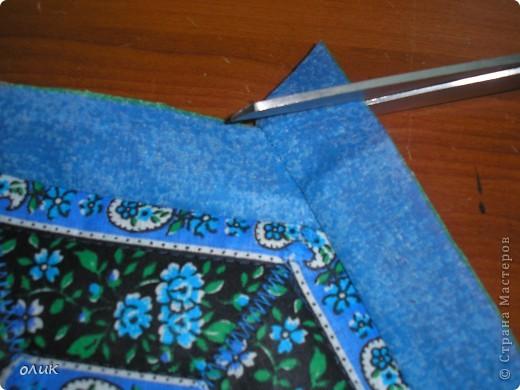 """Показываю для вас милые дамы м.к. как сшить разные прихватки из одной и той же ткани ткани методом лоскутного шитья """"калейдоскоп""""(прихватки получаются с разным орнаментом, но в одной цветовой гамме). фото 17"""