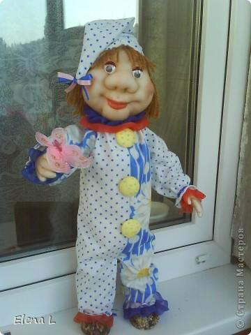Клоун  ВАСИЛЬКА