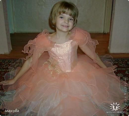 Платья детские выполнены по МК. https://stranamasterov.ru/node/95427 золотое платье  фото 3