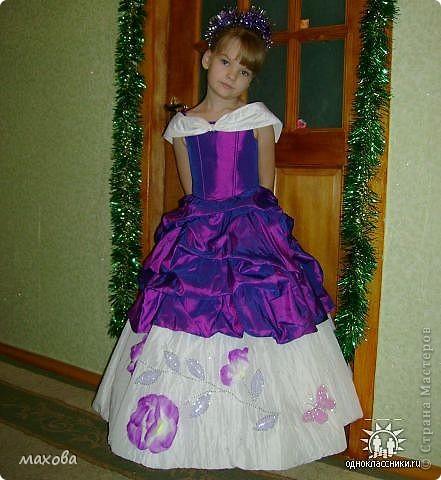 Платья детские выполнены по МК. https://stranamasterov.ru/node/95427 золотое платье  фото 4