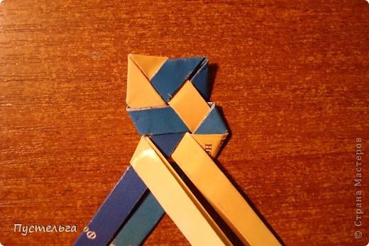Мастер-класс Поделка изделие Украшение Плетение Сплетём ободок Бумага журнальная фото 13