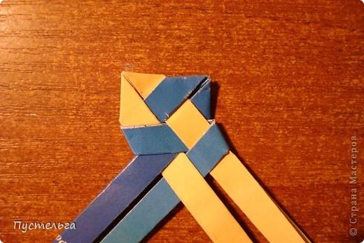Мастер-класс Поделка изделие Украшение Плетение Сплетём ободок Бумага журнальная фото 10