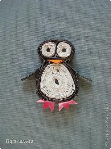 Кто справился с совёнком, легко сделает и пингвина.