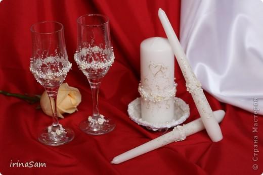Вот мой дебют в наборах для свадьбы. Захотелось чего-нить такого золотого, использовала два разных по тону золотых контура, вот что получилось.  фото 4