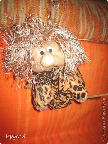 Доисторический воин Маккунг ( игрушку выполнил мой 13 - летний сын Максим ) фото 2