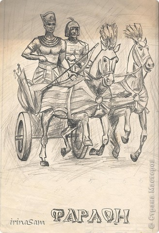 Когда-то в старших классах школы я очень любила рисовать и рисовала все подряд, ну, конечно, любила срисовывать с понравившихся картинок, где-то с открытки, где-то с иллюстрации книги. Нашла вот свои картинки и решила их определить на свою страничку.  Эта лошадка с открытки. Гуашь. фото 4