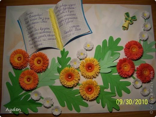 Мастер класс открытка к дню рождения школы