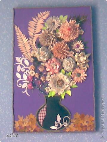 Вот такие цветы получились) фото 2