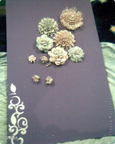 Вот такие цветы получились) фото 1